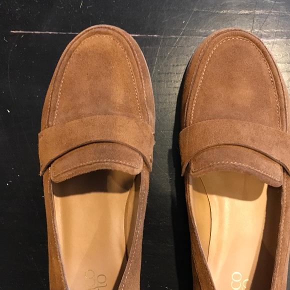 e2076c4debe Franco Sarto Shoes - Franco Sarto Valera Loafer Camel suede 9